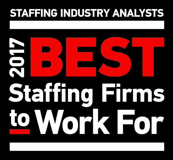 SIA Best Staffing Firms to Work For