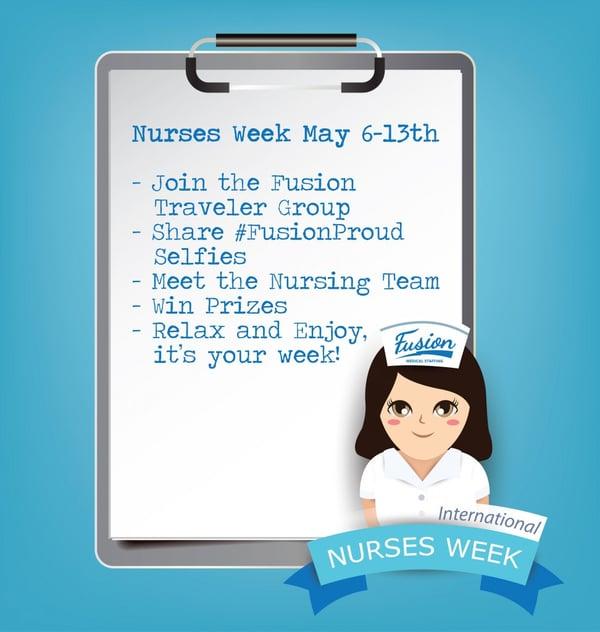 Nurses week list