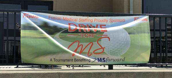 2018 Drive Fore MS Gold Sign