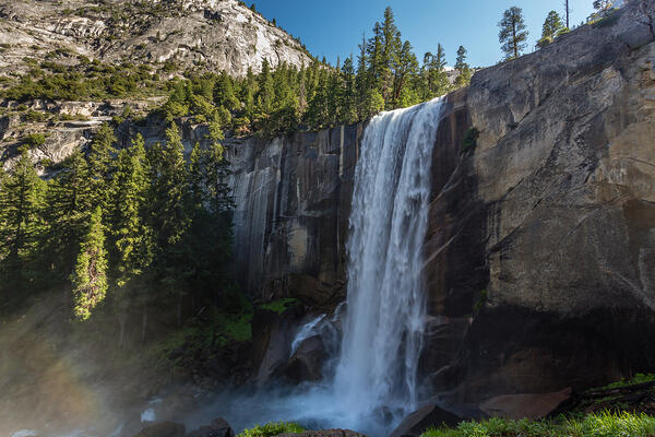 Yosemite National Park's waterfalls